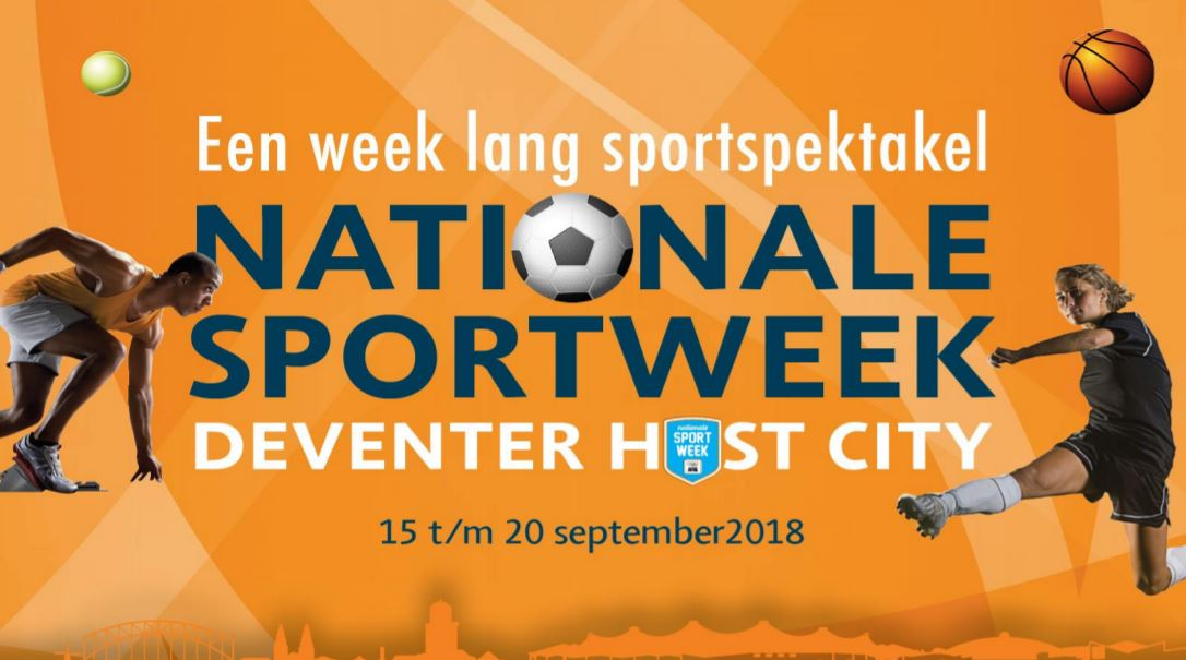 Estafette optocht Nationale Sportweek 3