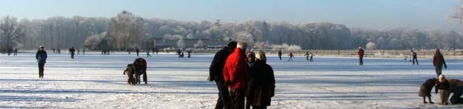 OBS slingerbos gaat schaatsen
