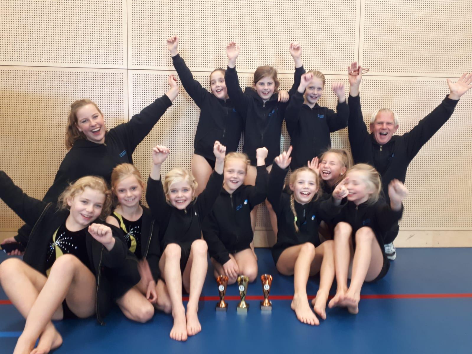 Springgroep jeugd 27-10-2018 Steenwijk
