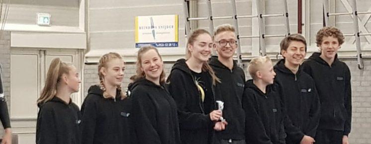 Springgroep junioren Oldemarkt 2de prijs minitramp-pegasus 20-10-2018