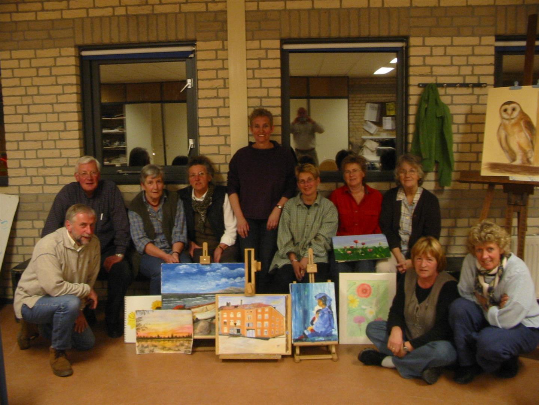 Teken- en schildergroep 2004