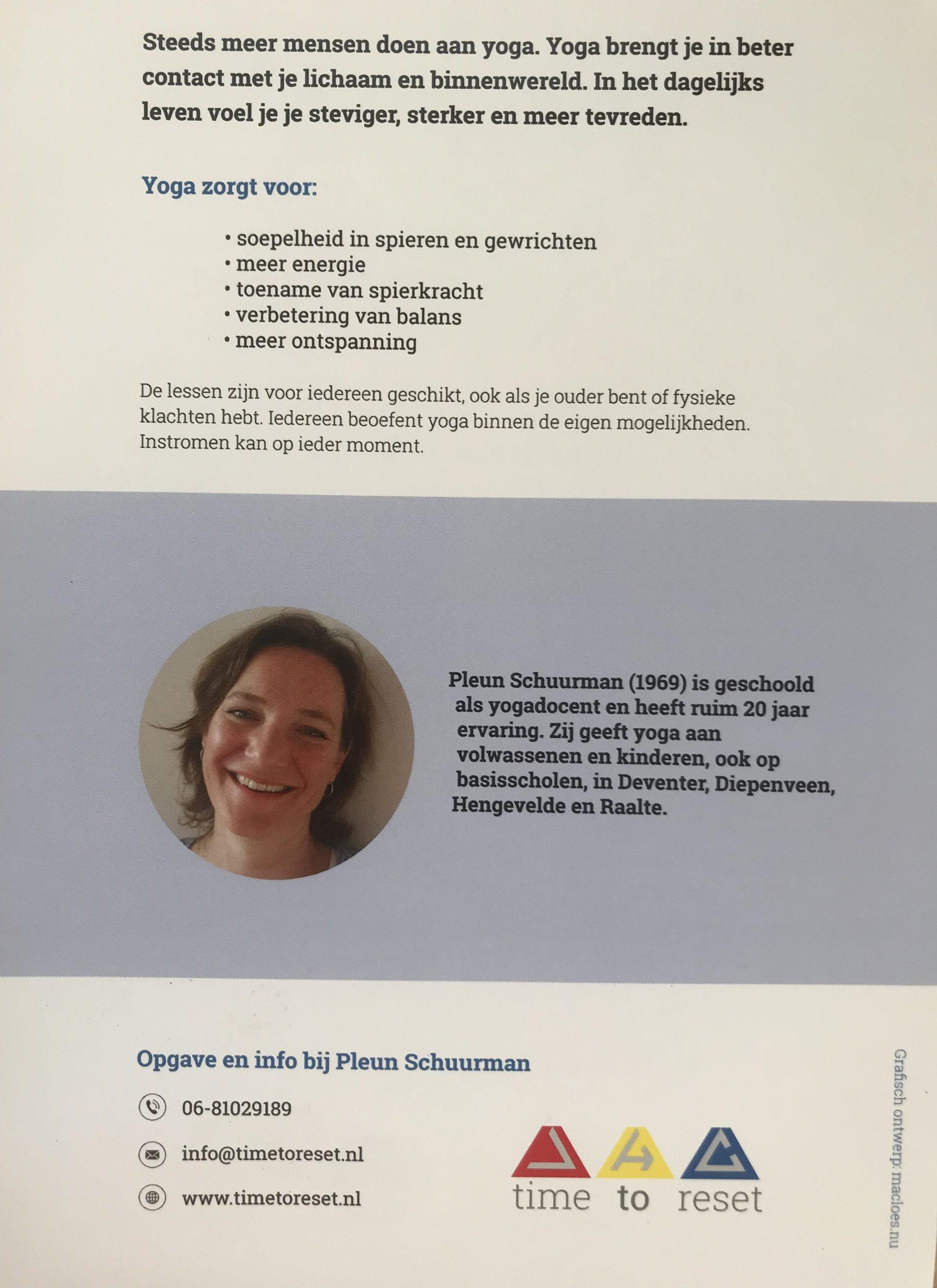 yoga in Kulturhus 1